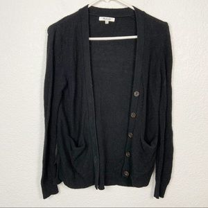 Madewell Black Knit Cardigan Size XS